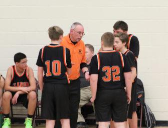 Junior High Boys Basketball A-Team Wins Two (01/27/17)
