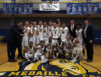 Basketball Season Ends For Jon Smith And Greg Bean With Medaille Playoff Loss (03/05/17)