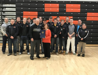 Coach Wiser Honored By PA House of Representatives For 200th Win And Other Accomplishments (03/21/17)