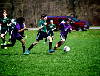 Clarion River Strikers U14 Team Ties 2016 League Champs, Kinzua, 1-1 (04/10/17)
