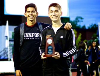 Clarion Area Cross Country And Track And Field Athlete Nathaniel Lerch Gets To Meet NCAA Track Champion (06/27/17)