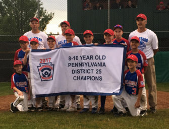 Clarion 10u Little League All-Stars Capture District 25 Title, Look Ahead To Sectionals (07/13/2017)