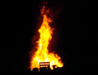 Bobcats Fall Sports Meet The Teams Bonfire Held (09/03/17)