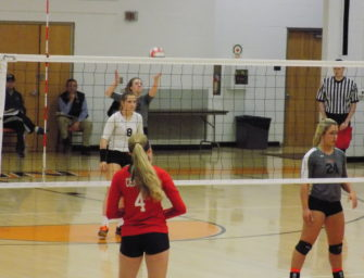 Clarion Volleyball Sweeps DuBois Central Catholic To Open District 9 Playoffs (10/30/17)