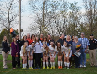 Lady Cats Soccer Booster Club Honors Seniors And Parents On Senior Night (10/23/17)
