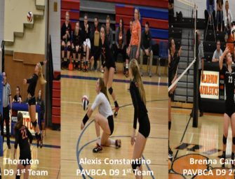 Three Bobcat Volleyball Players Named District 9 PAVBCA All-Stars (11/08/2017)