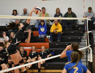 Clarion Volleyball Upends Johnsonburg, Advances To D9 Semifinals (11/02/17)