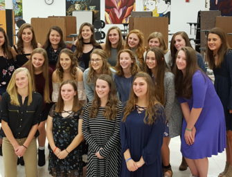 Lady Cat Soccer Team Holds Annual Banquet (11/27/17)