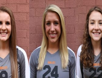 Three Bobcats Named To All-State Volleyball Team (12/07/2017)