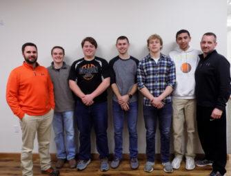 Bobcat Boys Basketball Boosters Host Team Banquet (03/14/18)