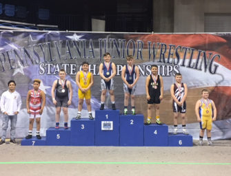 Derek Smail Finishes This Season Strong With A 6th Place Finish At PA Junior Wrestling Youth State Tournament (03/27/18)