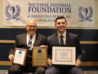 Nick Cherico Honored With A Number Of Scholarship Awards At National Football Foundation, Central PA Chapter Banquet (03/28/18)