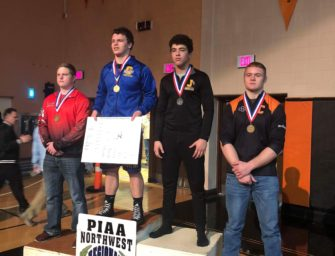 Clarion Wrestlers At NW Regionals: Wurster Advances To States (03/07/2018)