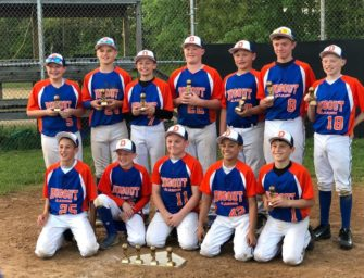 Clarion Dugout 12u Team Finishes Second At Meadville Mayhem Tournament (05/30/2018)