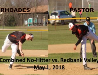 Clarion Uses A Combined No Hitter To Defeat Redbank Valley (05/04/2018)