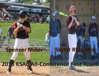 Four Bobcat Baseball Players Named To 2018 KSAC All-Conference Team (05/22/2018)