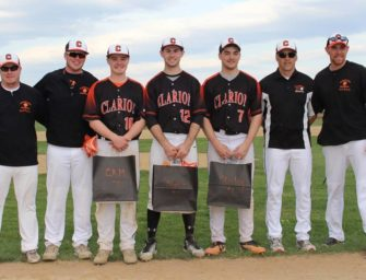 Clarion Downs C-L On Senior Day (05/07/2018)