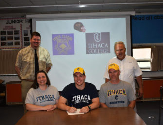 Colt Stimmell To Continue Academic And Football Career At Ithaca College (06/07/18)