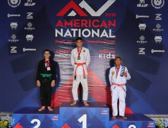 Clarion MMA's Haven LeFay Places Second At American National Brazilian Jiu-Jitsu Championship (07/10/18)