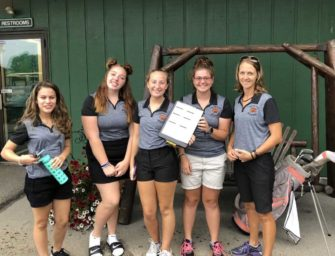 Girl's Golf Team Opens Season With Second Place Finish At Clarion Megamatch (08/20/2018)