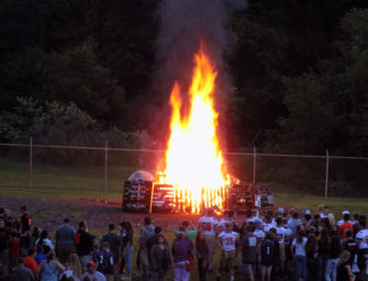 2018 Bobcat Kick-off Bonfire Celebration Held (08/24/18)