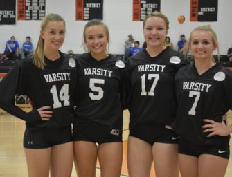 Bobcat Volleyball Wins On Senior Night; JV Results Included (10/16/2018)