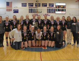 Volleyball Wins District IX Title (11/04/2018)