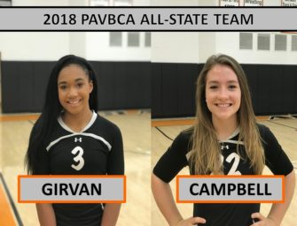 Girvan, Campbell Earn All-State Recognition (12/04/2018)