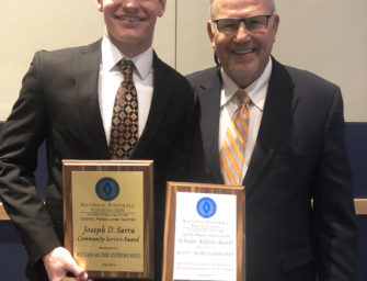 Archer Mills Is Clarion Area's 2019 N.F.F. Scholar-Athlete, Also Awarded Prestigious Sarra Award (03/23/19)