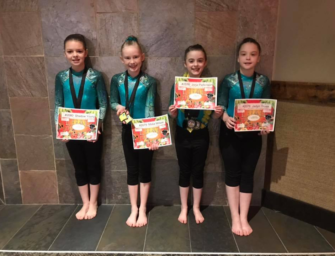 Leap Of Faith Gymnasts Do Well At Kalahari Luau In Leo's Invitational Meet  (03/12/19)