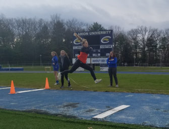 Clarion Area Track And Field Teams Sweep Union (04/17/19)