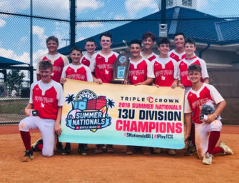 Dawson Smail And Beaver Valley Baseball Teammates Win Triple Crown Nationals Title; Dawson Named MVP