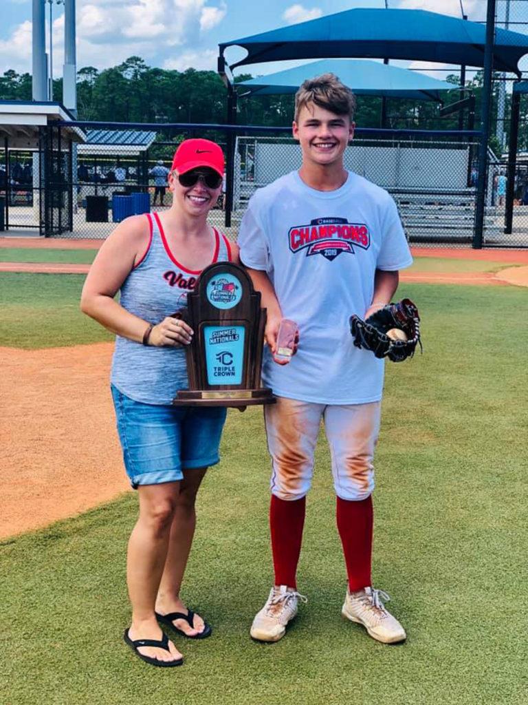 Dawson Smail And Beaver Valley Baseball Teammates Win Triple