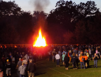 Fantastic Fall Sports Kickoff Bonfire Celebration Draws Largest Crowd Yet (08/23/19)