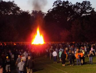 Fantastic Fall Sports Kickoff Bonfire Celebration Draws Largest Crowd Yet (08/23/19)