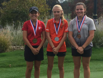 McKayla Kerle Finishes Second At District Golf Championship, Qualifies For Regionals (09/30/19)