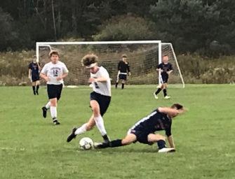 Clarion-Limestone Boys Soccer Team Downs DuBois Central Catholic (10/03/19)
