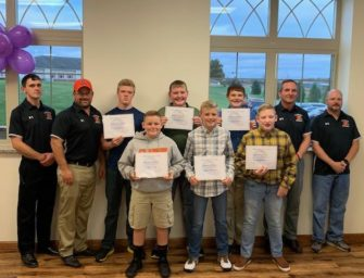 Football Boosters Host 2019 Junior High Football Banquet (10/28/19)
