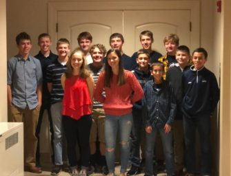 Clarion-Limestone Lions Cross Country Honors Athletes With Banquet (11/11/19)