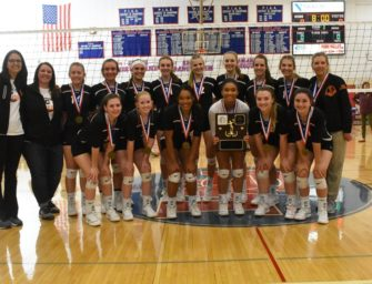 Lady Cats Down Lady Elkers For District Nine Volleyball Title, Finish Off I-80 Sweep Of Title Matches At St. Marys (11/03/19)