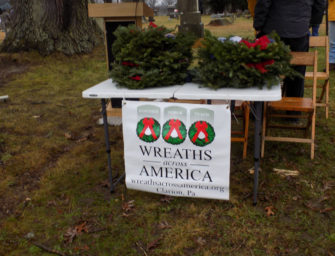 Wreaths Across America Update: Wreaths Will Arrive In Clarion On Wednesday, December 16th; Wreath Laying To Take Place Saturday, December 19th (Posted 12/02/20)