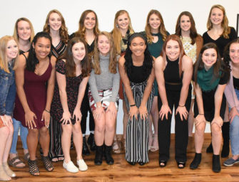 Clarion Area Lady Cats Volleyball Team Honored By Boosters At Team Banquet (12/04/19)