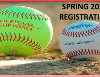 Clarion Little League Baseball And Softball Is Going On-Line With Registration (01/12/19)
