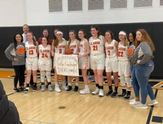 Girls Basketball: Kait Constantino Scores 1,000th Career Point In Lady Cats Victory Over Forest Area, Team Follows With Win Over Venango Catholic (01/11/20)