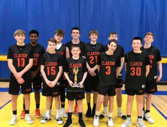 Junior High Bobcats Basketball Team Records Three Big Wins to Claim Union Tournament!! (02/18/20)