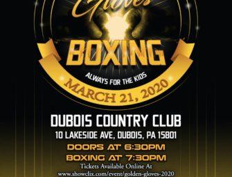 WPAL DuBois To Host PA Golden Gloves Championships (02/06/20)