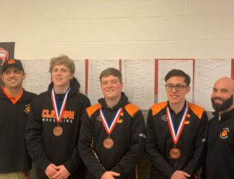Bobcats Finish Eighth In District Nine AA Wrestling Tournament, Zack Keihl, Cutter Boggess and Donavan Edmonds Qualify For Regionals (02/23/20)