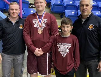 Clarion Area's Brock Champluvier Finishes Fifth At Pennsylvania Junior Wrestling-Junior High Championships (03/03/20)