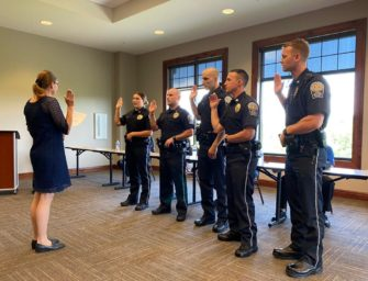 Former Bobcat Football And Baseball Standout, Corbin Ragley New Member Of Northern Regional Police Department (07/03/20)