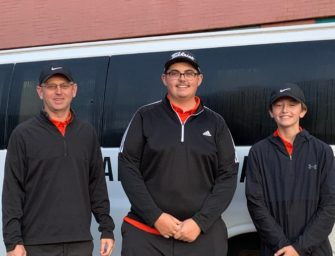 Bobcats' Jackson Fox Moving On To Second Round, In District Nine Class-AA Golf District Championships, C-L Duo Also Advances, (Posted 09/29/20)
